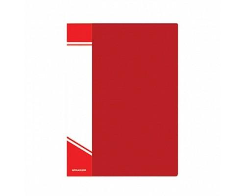 Папка 20 файлов InФормат А5 красная NP01А5-R