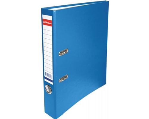 Папка-регистратор 50мм ЕК Стандарт бирюза собр картон/ПВХ,металл.уголок,без кармана 298