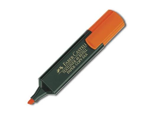 Текстовыделитель Faber Castell оранжевый ( с возможностью дозаправки ) FC154815
