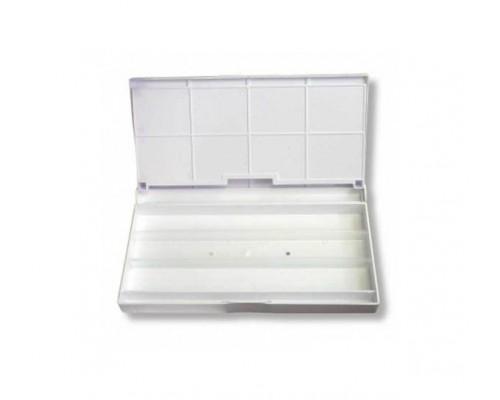 Коробка под акварель 24 и 36цв  пластик палитра 2437