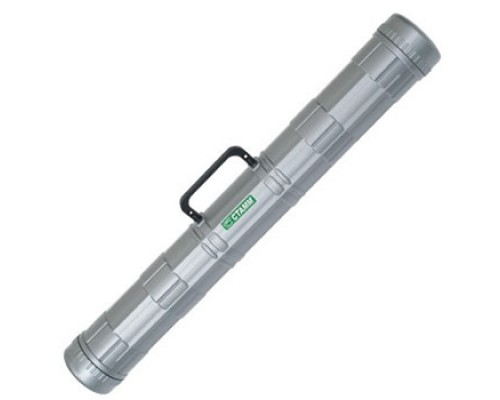 Тубус для чертежей Стамм d=90мм с ручкой серый ПТ22