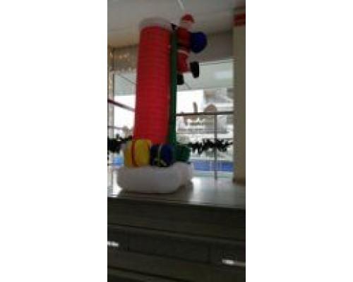 Дед Мороз надувной 210см 41269