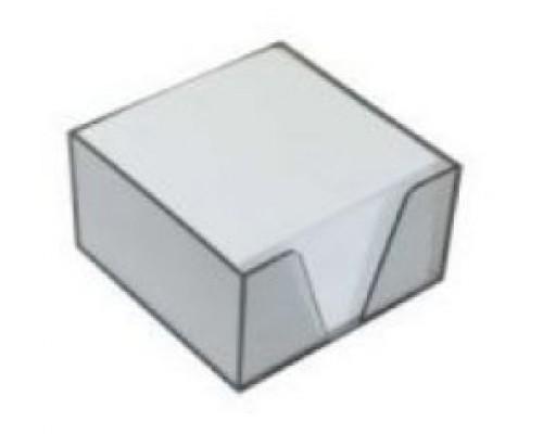 Блок бумаги Erich Krause 9*9*5см в стакане белый