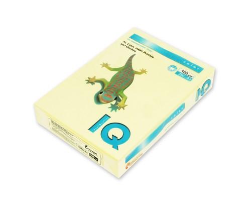 Бумага офисная IQ Color 160г YE23 А4 250л желтый Mondi