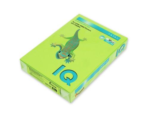 Бумага офисная IQ Color 80г LG46 А4 500л зеленой липы Mondi
