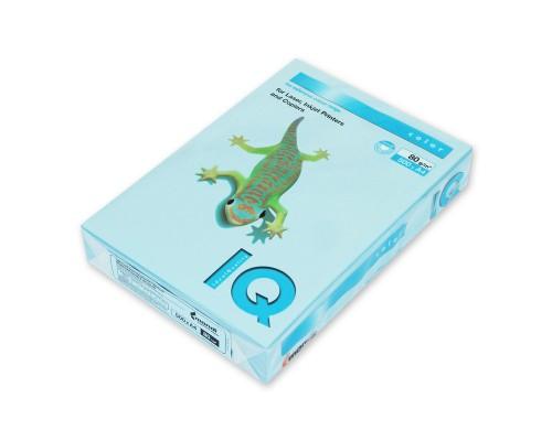 Бумага офисная IQ Color 80г OBL70 А4 500л голубой лед Mondi