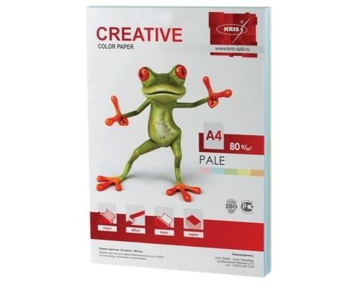 Бумага офисная Creative color 80г/м А4 250л 5цв*50л пастель БПpr-250r