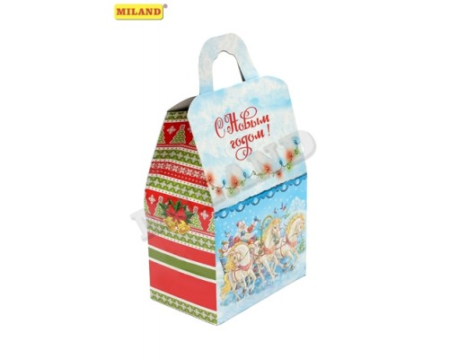 Коробка для конфет Миленд Сундук 1000г ПП-0336