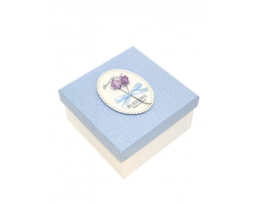 Короб подарочный OMG 720502 квадрат Blessing 1