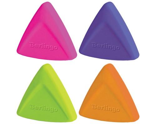 Ластик Berlingo Arrow треугольный термопластичная резина 40*35*10мм