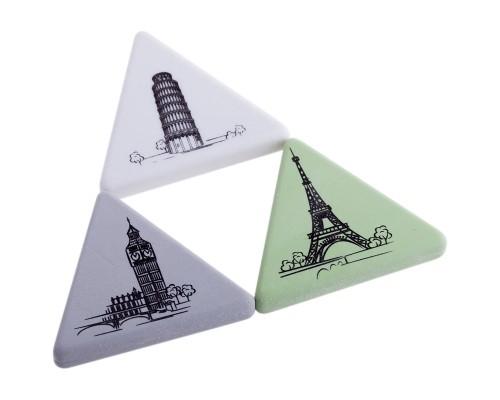 Ластик Berlingo Triangle XL тругольный 55*55*55*9мм термопластичная резина