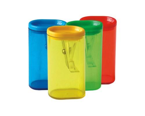 Точилка Спейс 1отв пластик контейнер