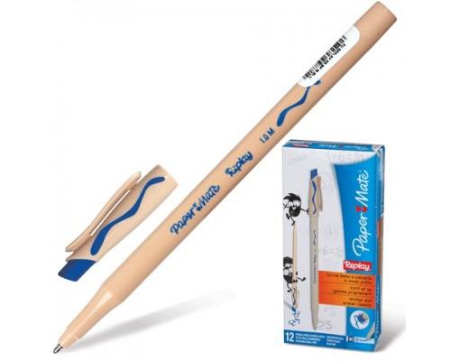 Ручка пиши-стирай Paper Mate Replay Medium шар синяя