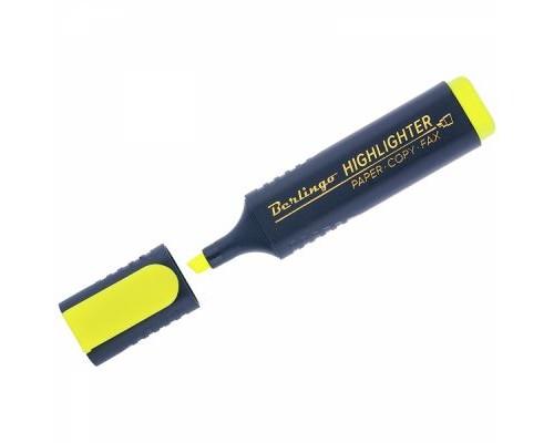 Текстовыделитель Berlingo 1-5мм желтый Т7017