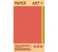 Фоамиран КЭ А4 5л 5цв Paper Art Неоновые цвета 2мм НЦФФ5502