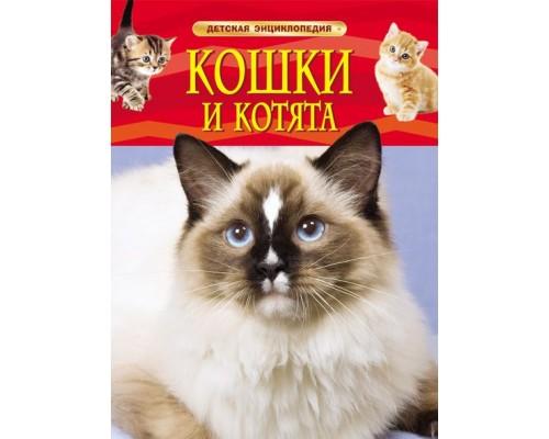 Кошки и котята Детская энциклопедия Росмэн