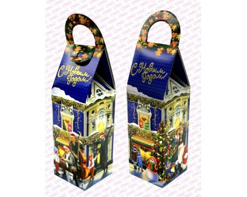 Коробка для конфет OMG 8*8*30см NY100-14