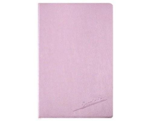 Ежедневник Феникс А5 192стр недатир Наппа розовый металлик черный офсет 47468