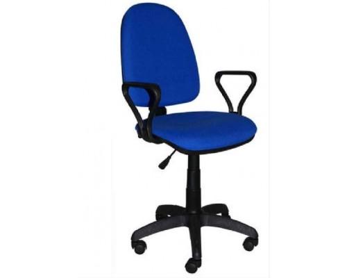 Кресло Престиж ЖТП Ц-14 Синее с черной клеткой