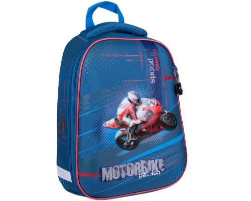Ранец Berlingo Expert Motorbike 37*28*16 2отд 1карман RU045033
