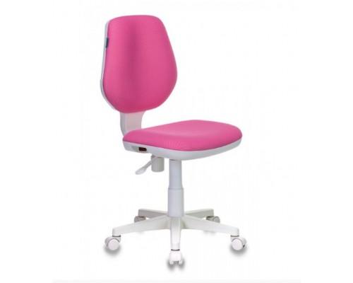 Кресло Бюрократ CH-W213/TW-13A розовый (пластик белый)