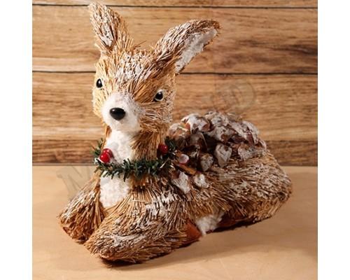 Декоративная фигура Красивый оленёнок 22*10*20см Миленд НУ-0489