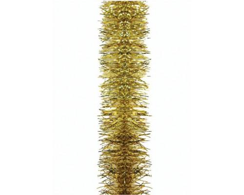 Мишура Морозко Вьюга золото М0202 Пластиндустрия