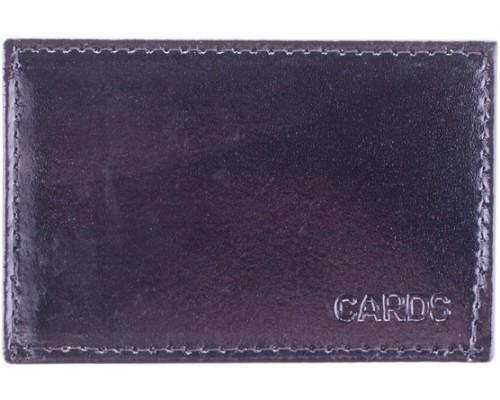 Обложка для проездного билета кожа тип2 ассорти Спейс
