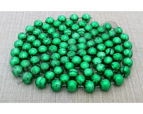 Бусы Волшебный праздник 1,4см 1,8м зеленые Миленд НУ-0061