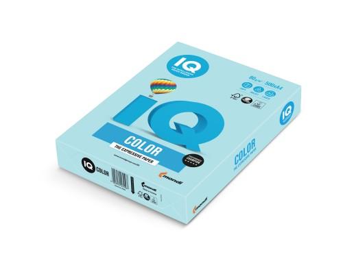 Бумага офисная IQ Color 80г MB30 А4 500л голубой Mondi