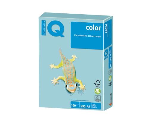 Бумага офисная IQ Color 160г MB30 А4 250л голубой Mondi