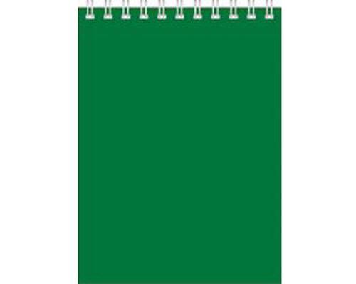 Блокнот БД А5 60л Для конференций спираль зеленый