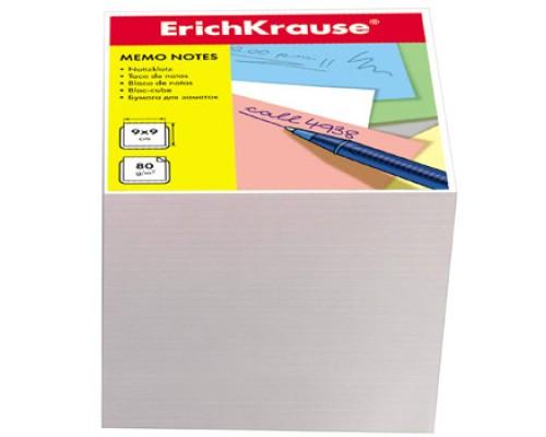 Блок бумаги Erich Krause 9*9*9см белый 4454