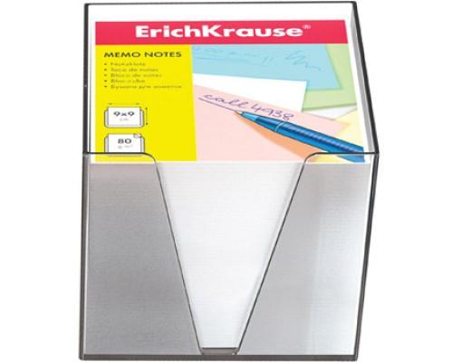 Блок бумаги Erich Krause 9*9*9см белый в стакане 4458