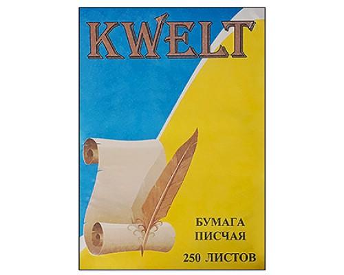 Бумага писчая А4 250л Kwelt 65г/м