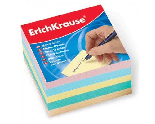 Блок бумаги Erich Krause 9*9*5см ассорти