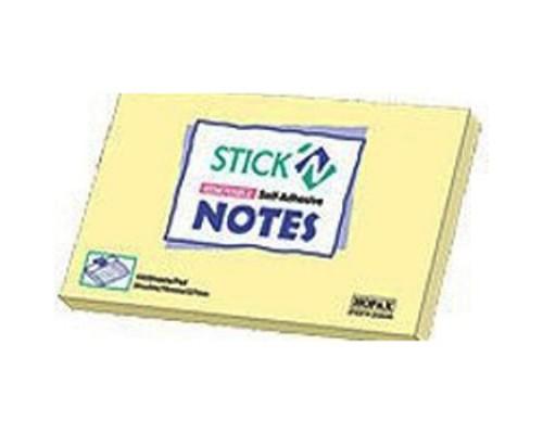 Бумага с клеевым краем Норах 76*127 100л пастель желтый 21009