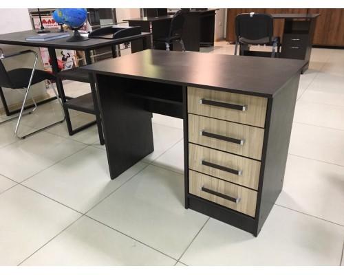 Стол письменный №2  4 ящика 1004*604*740 комбинированный