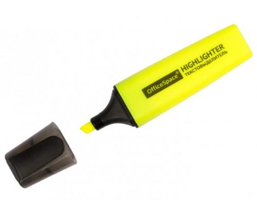 Текстовыделитель Спейс 1-5мм желтый