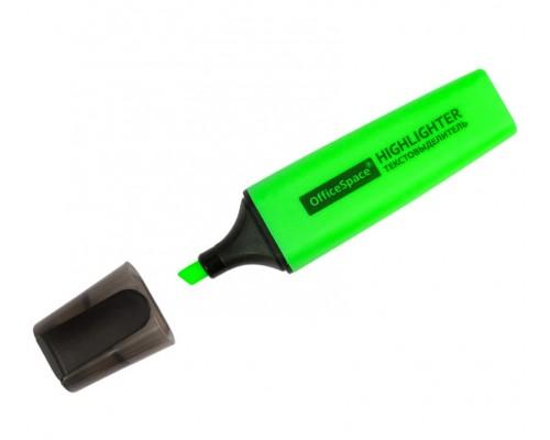 Текстовыделитель Спейс 1-5мм зеленый