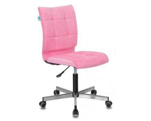 Кресло Бюрократ CH-330M розовое Velvet 36