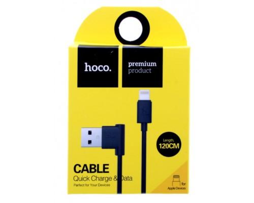 Кабель USB 8-pin Hoco Upl11 2,4А 1.2м черный