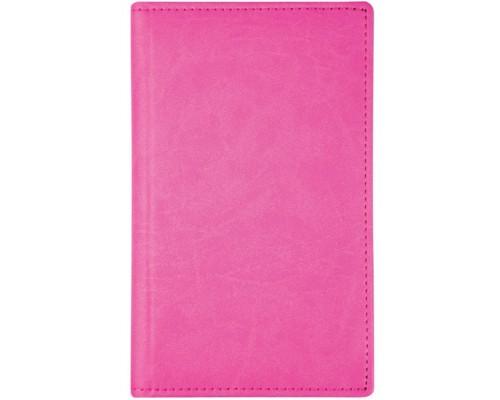 Визитница Спейс 72виз Winner 3 ряда кожзам розовая