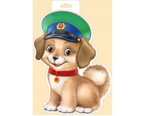 Плакат ИмП 930 Собака в фуражке 29.660.00