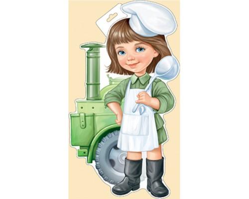 Плакат ИмП 933 Военная девочка 29.979.00