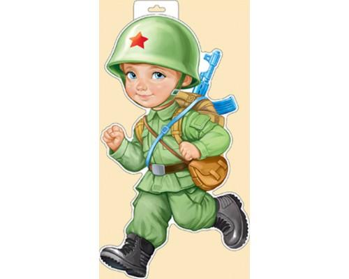 Плакат ИмП 933 Военный мальчик 29.978.00