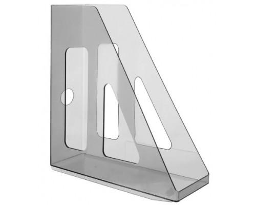 Лоток вертикальный Стамм Актив 70мм тониров серый ЛТ513