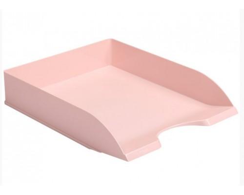 Лоток горизонтальный Стамм Дельта Voyage Paris розовый