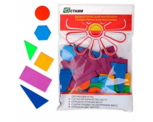 Набор Счетных материалов Геометрическая мозаика эконом Стамм ДМ01