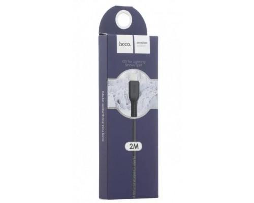 Кабель USB 8-pin Hoco X20 2А 2м черный